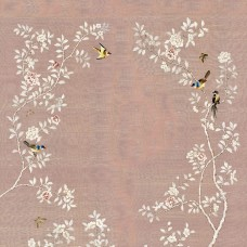 CHINOISERIE WITH FLOWER ARCH